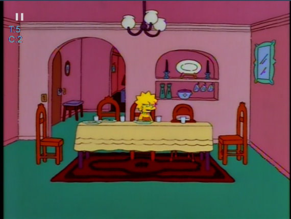 Simpsons Lisa Isolation
